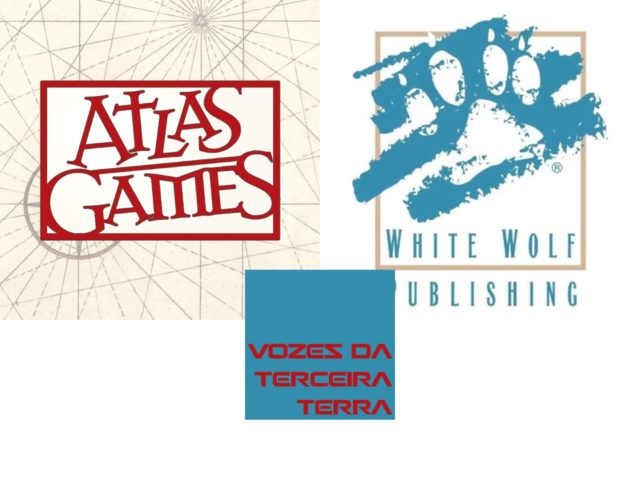 Game Publishers: Atlas Games e White Wolf
